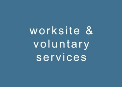 worksite & voluntary services
